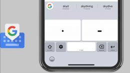 Google Keyboard Morse code